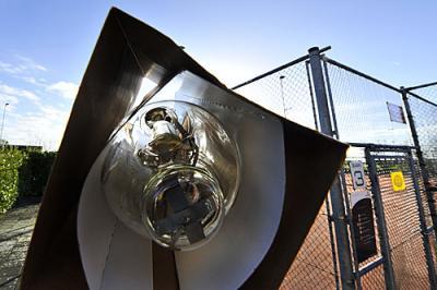 Rabobank betaalt bijna 1300 euro mee aan nieuwe lichtmasten