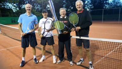 Donderdagteam Akkrum kampioen tenniscompetitie