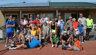 Junior-senior toernooi een familie-uitje