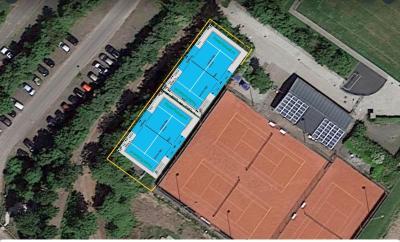Tennisvereniging Akkrum heeft plan voor twee padelbanen